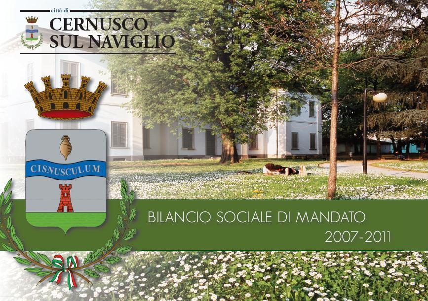 Bilancio sociale di mandato 2007-2011