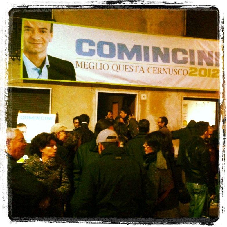 Inaugurazione comitato elettorale