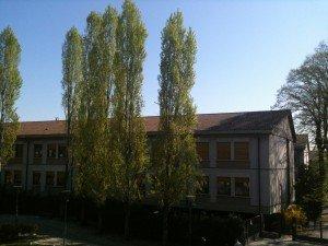 La scuola media di piazza Unità d'Italia