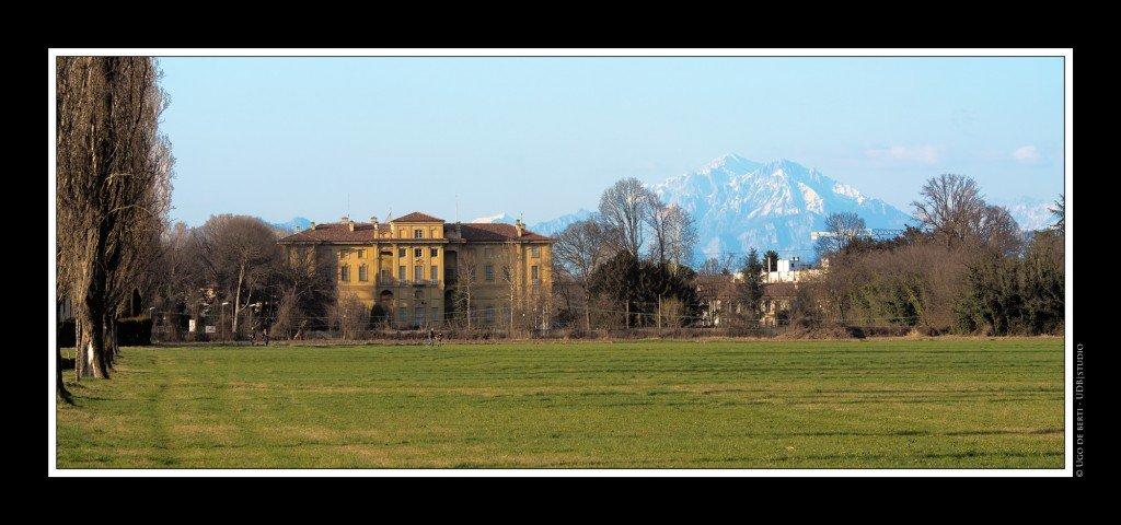 Cernusco vista dal cannocchiale di Villa Alari - Foto di Ugo De Berti