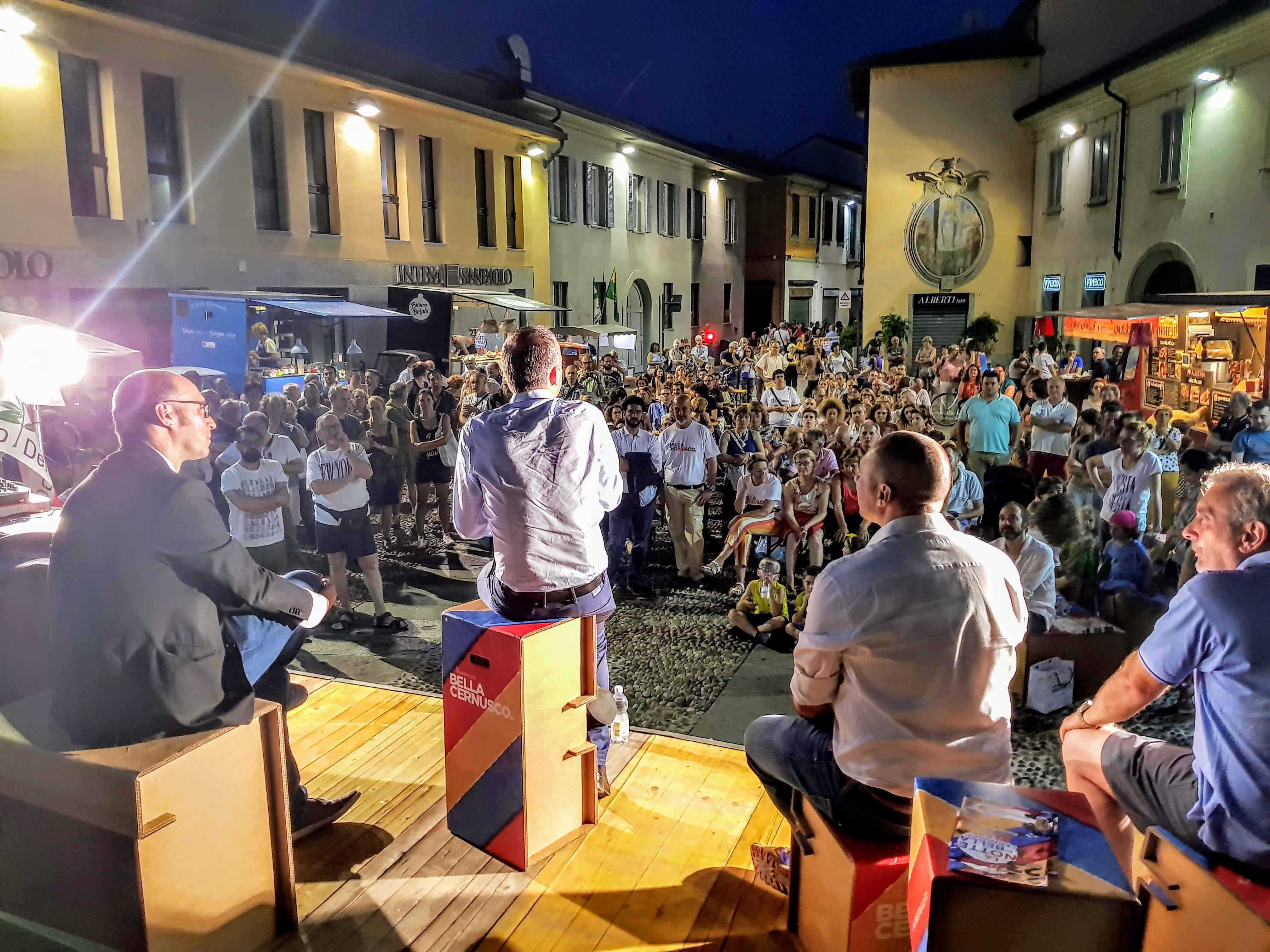 Il mio ultimo discorso da Sindaco alla città, in una piazza Matteotti piena per la serata finale della campagna elettorale per il ballottaggio di Ermanno Zacchetti